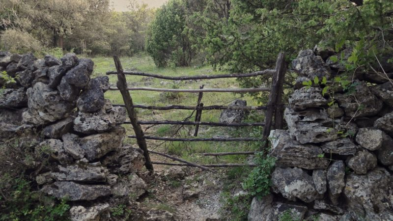 ancient gate in Pernat croatia