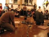 murmer - jgrzinich performance at entropia gallery Wroclaw, Poland