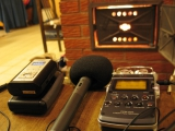 sony PCM-D50 and Edirol R-09 digital sound recorders