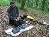 eric-cordier-setting-up-some-recording-in-the-forest