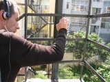 paulo-playing-his-fire-escape
