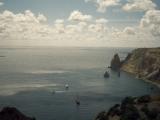 analog film photo: Black sea coast