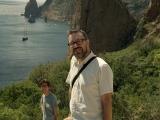 analog film photo: me at the Black sea