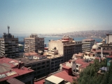 analog photo taken in Valparaiso Chile