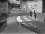 downtown Warsaw street scene