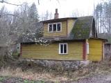 abandoned house in rural Estonia