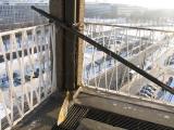 temporary rooftop sound installation in Dresden