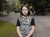 Film still from Listening in Context