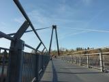 this pedestrian bridge is a phenomenal instrument