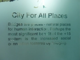 sign in the Calgary city hall