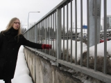 field recording in Tampere during sound workshop